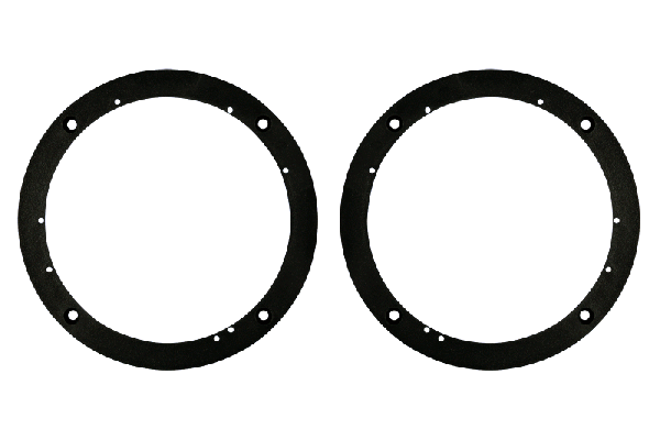 Plastic Ring Spacers : Metra electronics  inch universal quot to