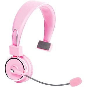 6becb29ec38 Blue Tiger USA (17-130390) - Elite Bluetooth 4.0 Headset, Noise Cancelling,  Up to 34 Hours of Talk Time, 600 Hours Stand By Time, Light Pink, ...