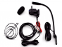 Toyocom (MS-5) - Hands Free Remote Mount CB Microphone System, Black, Factory Wired, 4-Pin Cobra-Uniden, Mobile Comm. Microphones