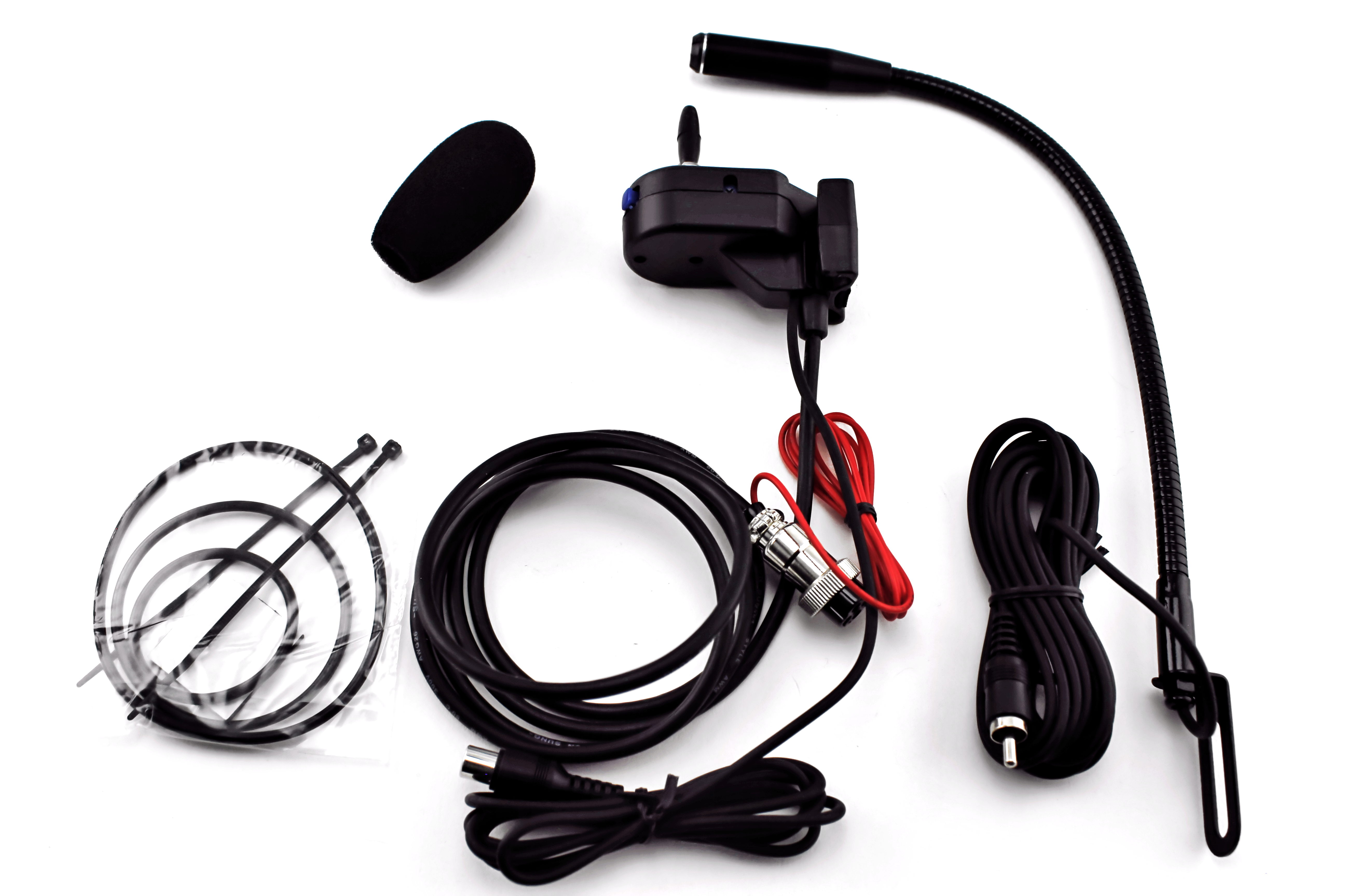 Toyocom MS-5 - Hands Free Remote Mount 4-Pin CB Microphone System
