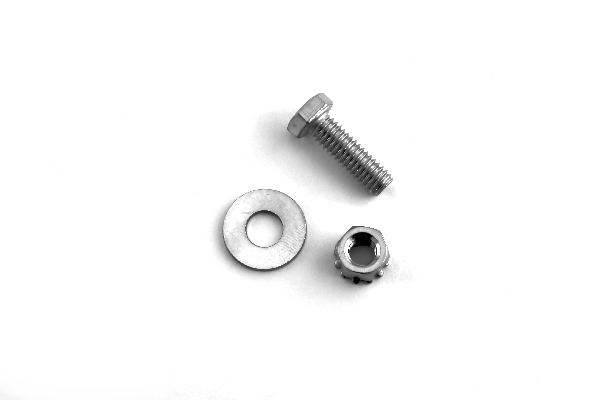 Bob's CB (KW-HARDWARE) - Replacement Stainless Steel Mounting Hardware, Use With Flat Bracket on Kenworth T660, Antenna Mounting Hardware
