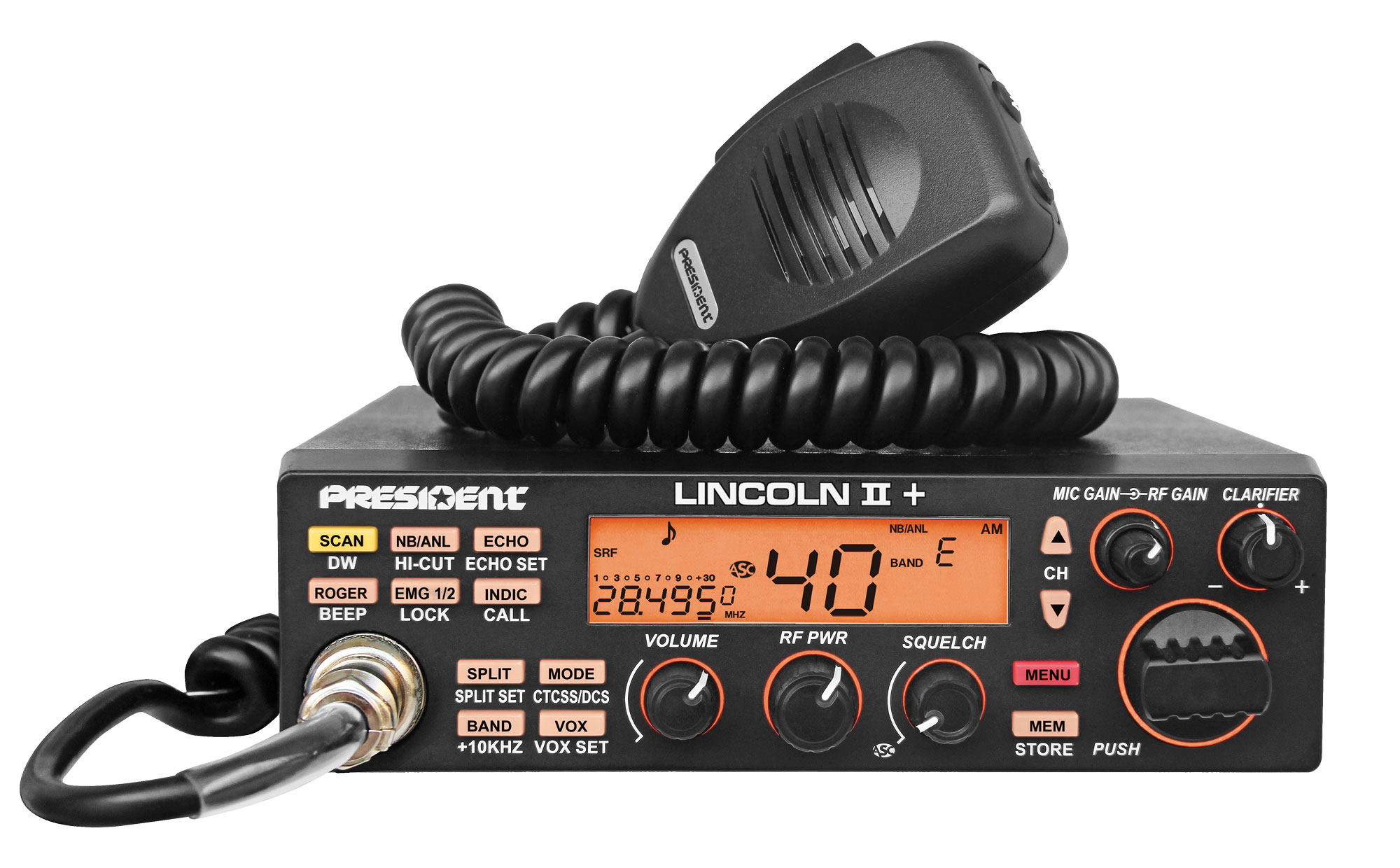 President Lincoln II Plus - 10 & 12 Meter Amateur Radio