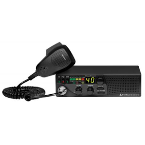 Cobra (18 WX ST II) - Compact CB Radio with NOAA Weather and Soundtracker, AM, 40 Channel, Mobile CB Radios
