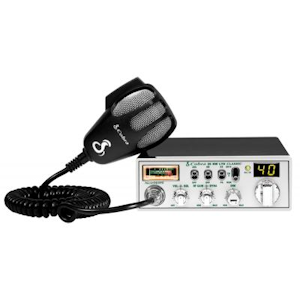 Cobra (25 NW) - Classic with NightWatch Electro Luminescent Display, Instant Channel 9/19, AM/PA, 40 Channel, Mobile CB Radios