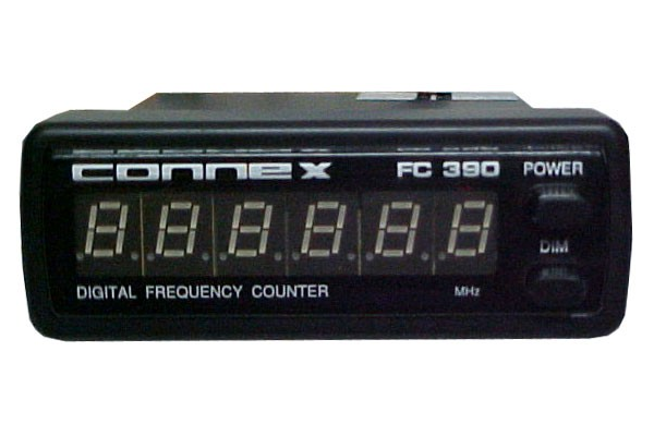 Cb Frequency Counter : Connex fc digit blue led display universal