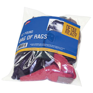 ~Carrand (40071) -  Bag of Rags, General Purpose Cotton Rags, 1/2 Pound per Bag, Vehicle Accessories