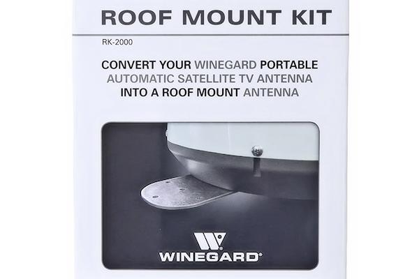 Winegard (RK 2000)   Permanent Roof Mount Kit For Winegard Antennas, RV Or  Truck, Satellite TV