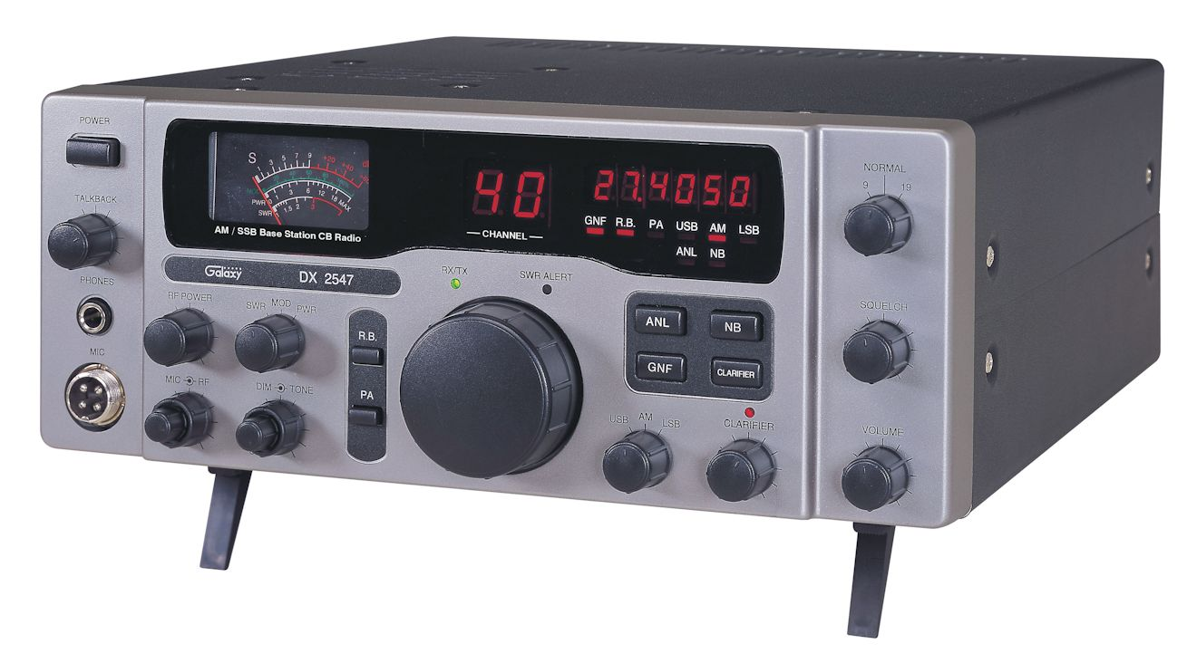 Galaxy Dx 2547 Deluxe Base Station Frequency Counter