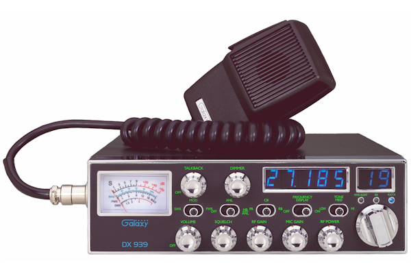 ~Galaxy (DX 939)  - Transceiver With StarLite Face Plate, Frequency Counter, Large Meter, Talk Back, High SWR Alert Circuit, AM/PA, 40 Channel, Mobile CB Radios