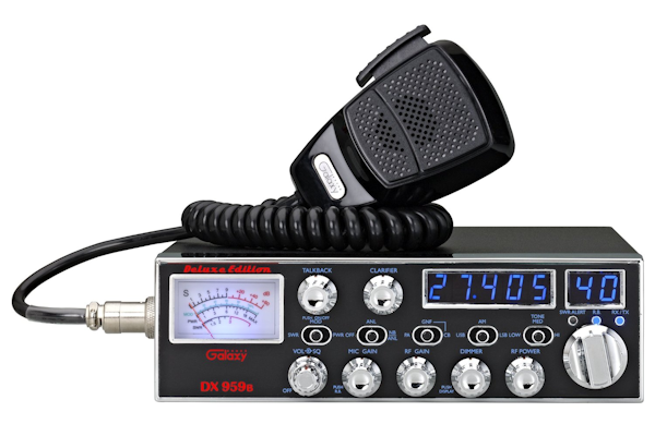 galaxy dx 959b transceiver with starlite face plate frequency rh bobscb com
