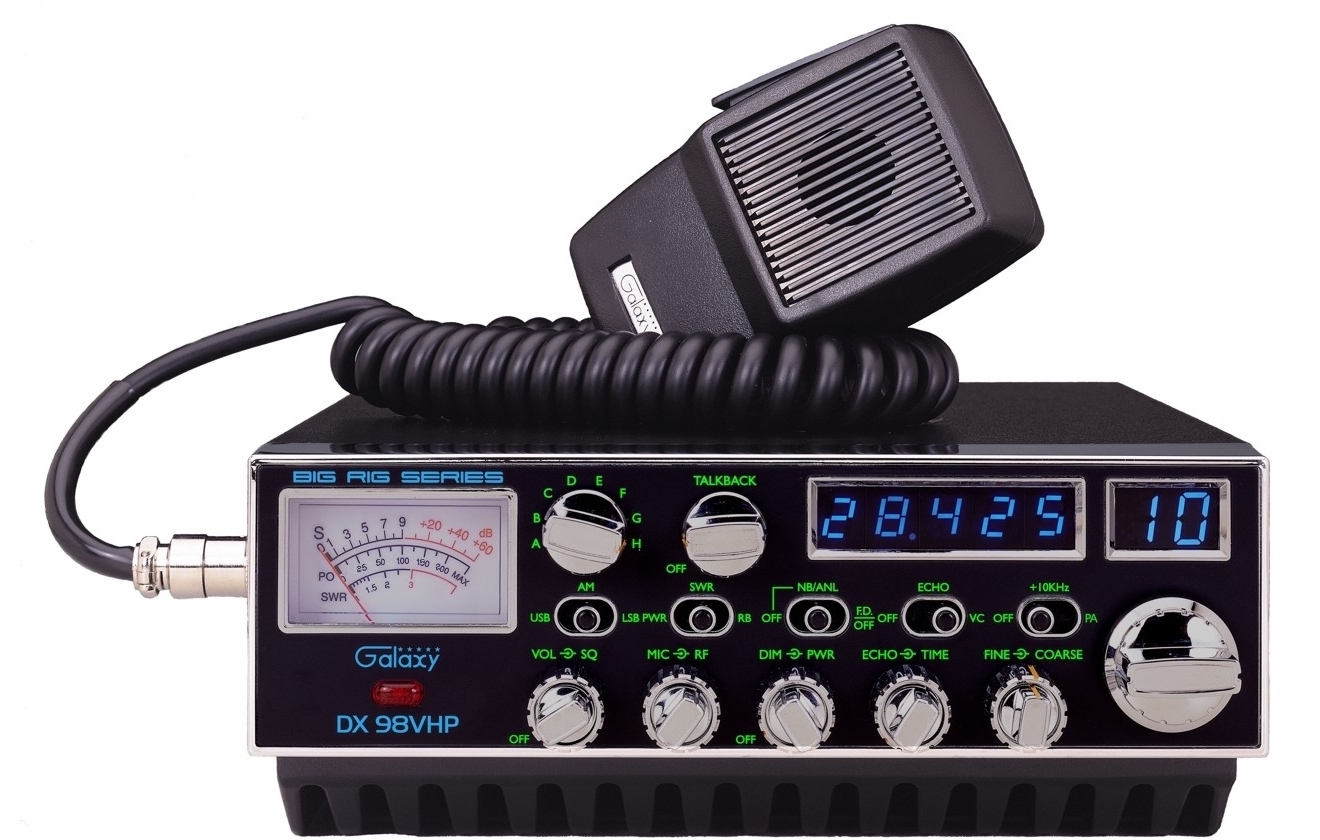 Galaxy DX 98VHP - 10 Meter Amateur Radio