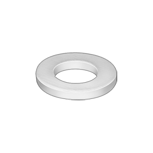 ~McMaster-Carr (98370A028) - Stainless Steel Thick Flat Washer, 1/4in Screw Size, 5/8in OD, .11in-.14in Thick, Hardware