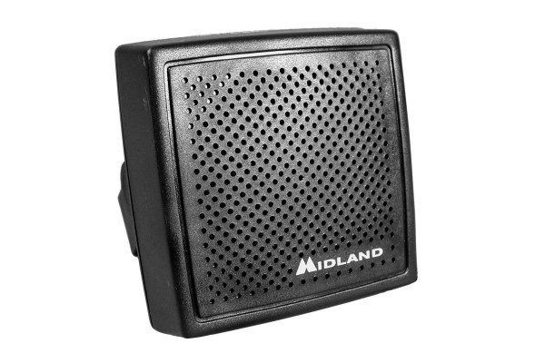 Midland (21-406) - 5in Communications Extension Speaker, 4 Ohm, 3.5mm Plug, 20 Watt, Mounting Bracket and Hardware, Communications Speakers