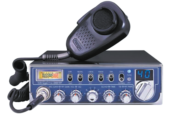 ~Mirage (MX-36HP) - AM/PA, Black, 10 Meter Amateur Mobile Radios