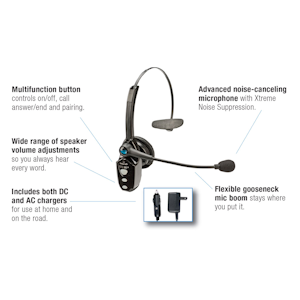 9918447a53c Product ID: PID3458 Status: Out of Stock - Can Not Order At This Time. VXi  BlueParrott B250-XT+ (203100) - Wireless Bluetooth Headset ...