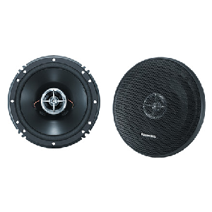 "Panasonic (CJ-A1623) - 6-1/2"" Two-Way Audio Speakers, 160 Watts Maximum Power, AM/FM Speakers"