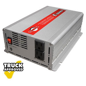 Tundra E Series (E1000) - Modified Sine Wave Power Inverter, 1000 Watts, 2 AC Receptacles, Power Inverters