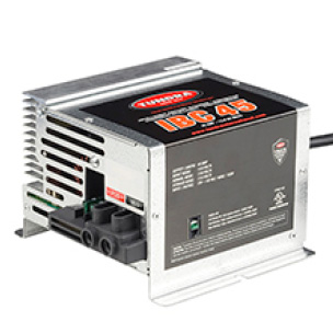 Tundra IBC Series (IBC45) - 45 Amp Intelligent Battery Charger, 12 Volts, Industrial Grade, 4 Charging Modes, 1 Converting Mode, NEMA 5-15P AC Input Cord, Battery Chargers