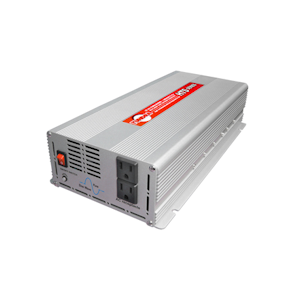 Tundra HTS Series (HTS1200) - Pure Sine Wave Power Inverter, 1200 Watts, 2 AC Receptacles, Power Inverters