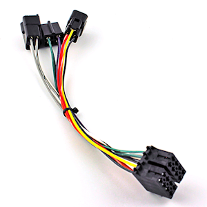 pan pp201495a pana pacific (pp201495) harness for delphi radio, 2a 3a wiring peterbilt radio wiring harness at virtualis.co