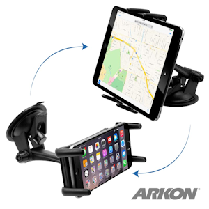 Arkon (RSM679) - Slim-Grip Ultra Sticky Suction Windshield