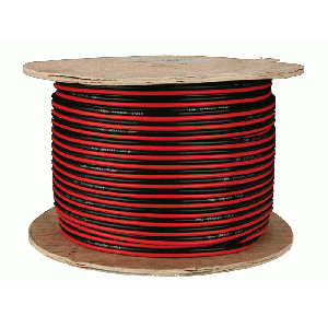 install bay swrb18500 speaker wire 18 gauge red black paired per foot hookup wire. Black Bedroom Furniture Sets. Home Design Ideas