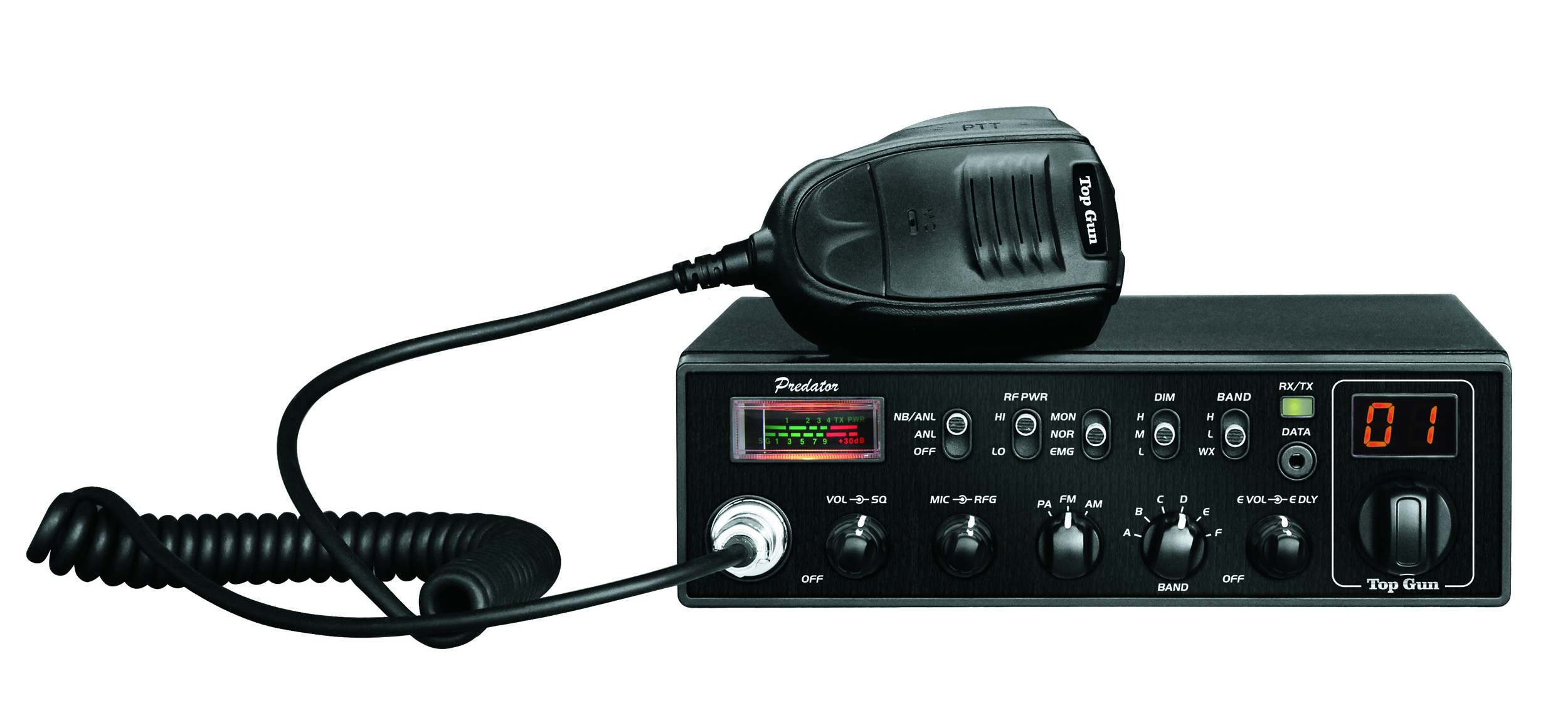 Top Gun Technologies Predator - 10 Meter Amateur Radio with Weather