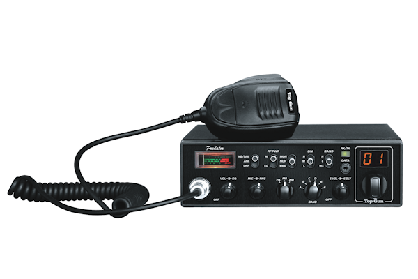 Top Gun Technologies (Predator 120) - AM/FM/PA/WX, Black, 10 Meter Amateur Mobile Radios