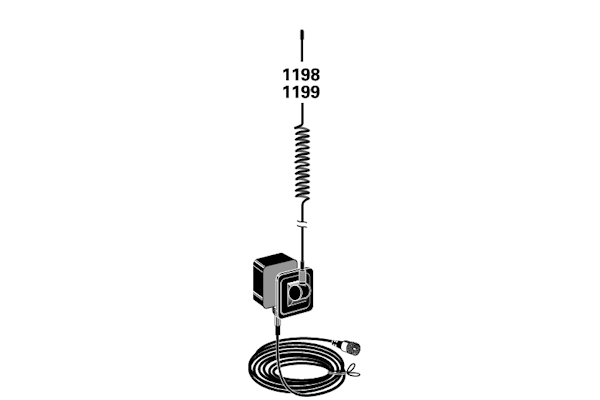tram  1198   weather glass mount antenna kit  tunable