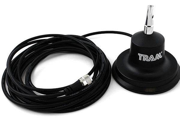 Tram (1154) - 2-Meter/Land Mobile Magnet Mount Antenna Kit, 3