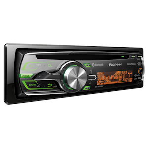 Pioneer Electronics Deh P8400bh Cd Receiver With Full Dot Lcd Display Mixtrax Built In Bluetooth And Hd Radio Tuner Am Fm Radios