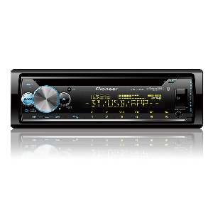 Pioneer Electronics (DEH-S6100BS) - CD Receiver with VA LCD Display (2-Line), Enhanced Audio Functions, Pioneer Smart Sync App Compatibility, MIXTRAX, BlueTooth, SiriusXM-Ready, AM/FM Radios