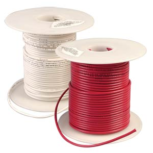 WesBell Electronics (UL1015-14-41-RD) -  UL 1015/MTW Approved 14 AWG PVC Lead Wire, Red, Sold by the Foot, Hookup Wire